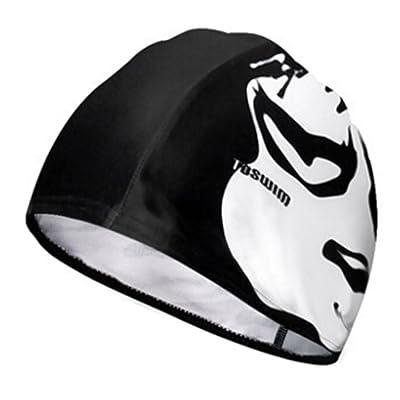 Mode unisexe Bonnet de bain bonnet de bain Swim Hat Protector cheveux ##12