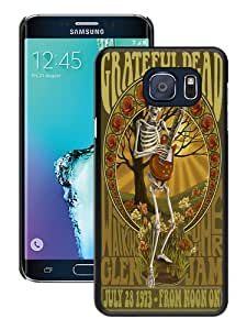 Fashionable S6 Edge Plus Case,Grateful Dead Black Customized Case For Samsung Galaxy S6 Edge Plus Case