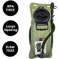 WACOOL 2L 2Liter 70oz Running Cycling Hiking BPA Free Hydration Pack Bladder
