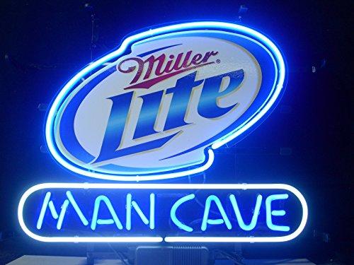- Miller Lite Man Cave Neon Sign 24
