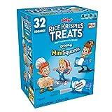 Rice Krispies Original, Mini-Squares Crispy Marshmallow Squares, 32 Count