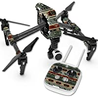 Skin For DJI Inspire 1 Quadcopter Drone – Cabin Stripes | MightySkins Protective, Durable, and Unique Vinyl Decal wrap cover | Easy To Apply, Remove, and Change Styles | Made in the USA