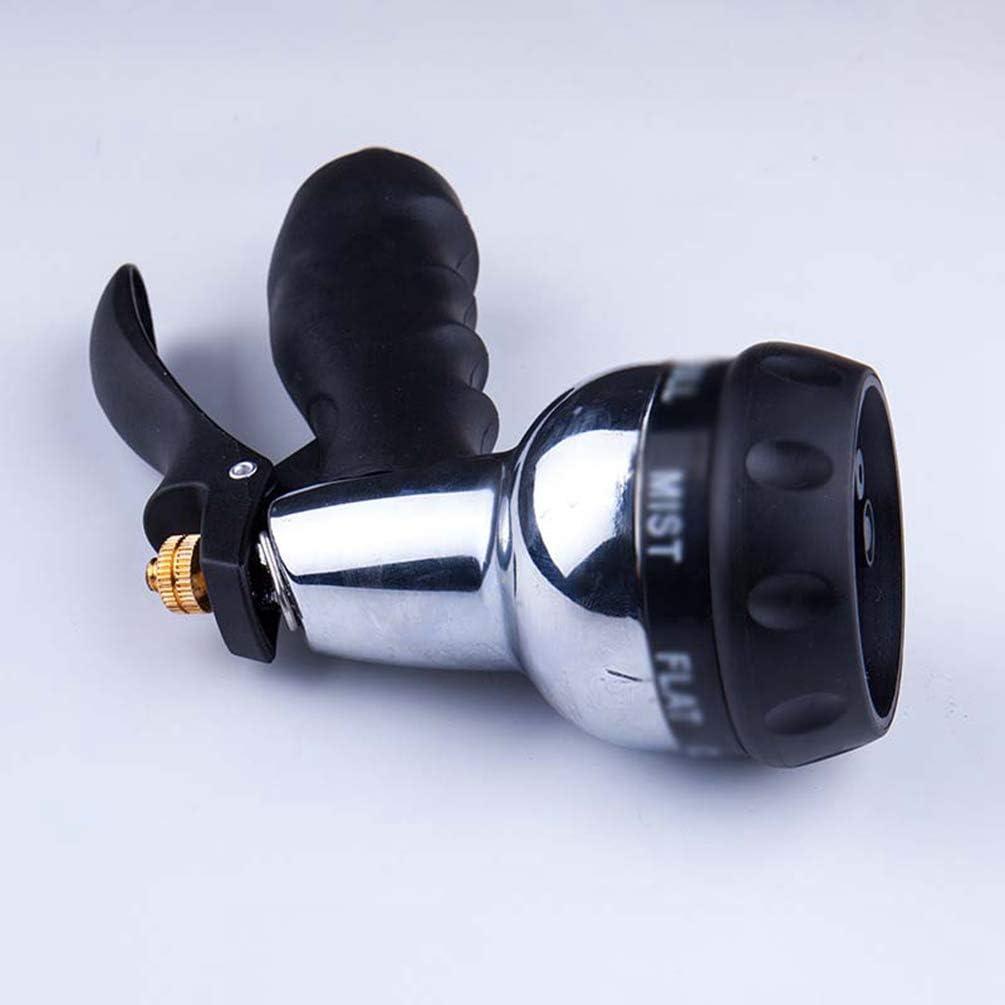 Nero, 5 * 12 * 18.5cm YOUJIAA Lancia a Doccia Multifunzione da Giardino per Irrigazione Prato /& Pulizia Marciapiede /& Lavaggio Auto /& Pet Balneazione