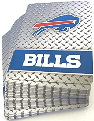 Buffallo Bills Playing Cards Decks (2 Decks) - NFL Officially Licensed Product