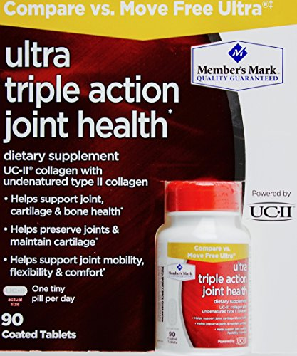 Members Mark Ultra Triple Action Joint Health, 90 Coated Tablets