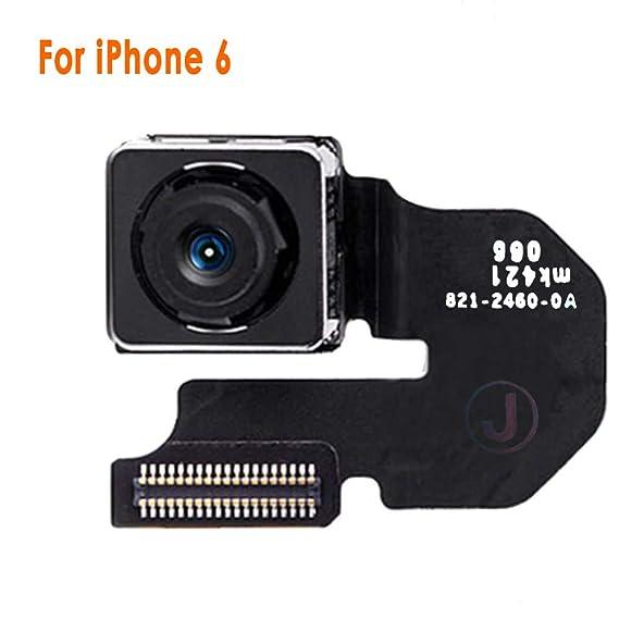 buy online fcc8d 7d2c3 Johncase 8MP Autofocus Main Back Rear Camera Module Flex Cable Replacement  Part Compatible iPhone 6 4.7 All Carriers