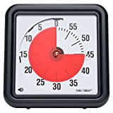 : Time Timer Original 8 inch; 60 Minute Visual Analog Timer; Optional (On/Off) Alert; Silent Operation (No Ticking); Time Management Tool for Kids, Students, Special Needs, and Adults