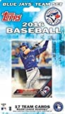 Toronto Blue Jays 2016 Topps Baseball Factory Sealed EXCLUSIVE Special Limited Edition 17 Card Complete Team Set with Jose Bautista, Troy Tulowitzki & More Stars & Rookies! Shipped in Bubble Mailer!