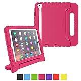 iPad Mini 3 Case - roocase KidArmor Kid Proof EVA Series iPad Mini Shock Proof Convertible Handle with Kickstand Kids Friendly Protective Cover Case for Apple iPad Mini 3 (2014) - Compatible with Mini 1 / 2, Magenta