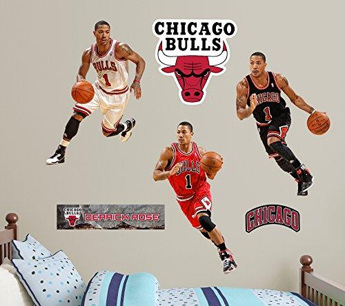 Fathead NBA Chicago Bulls Derrick Rose Hero Pack