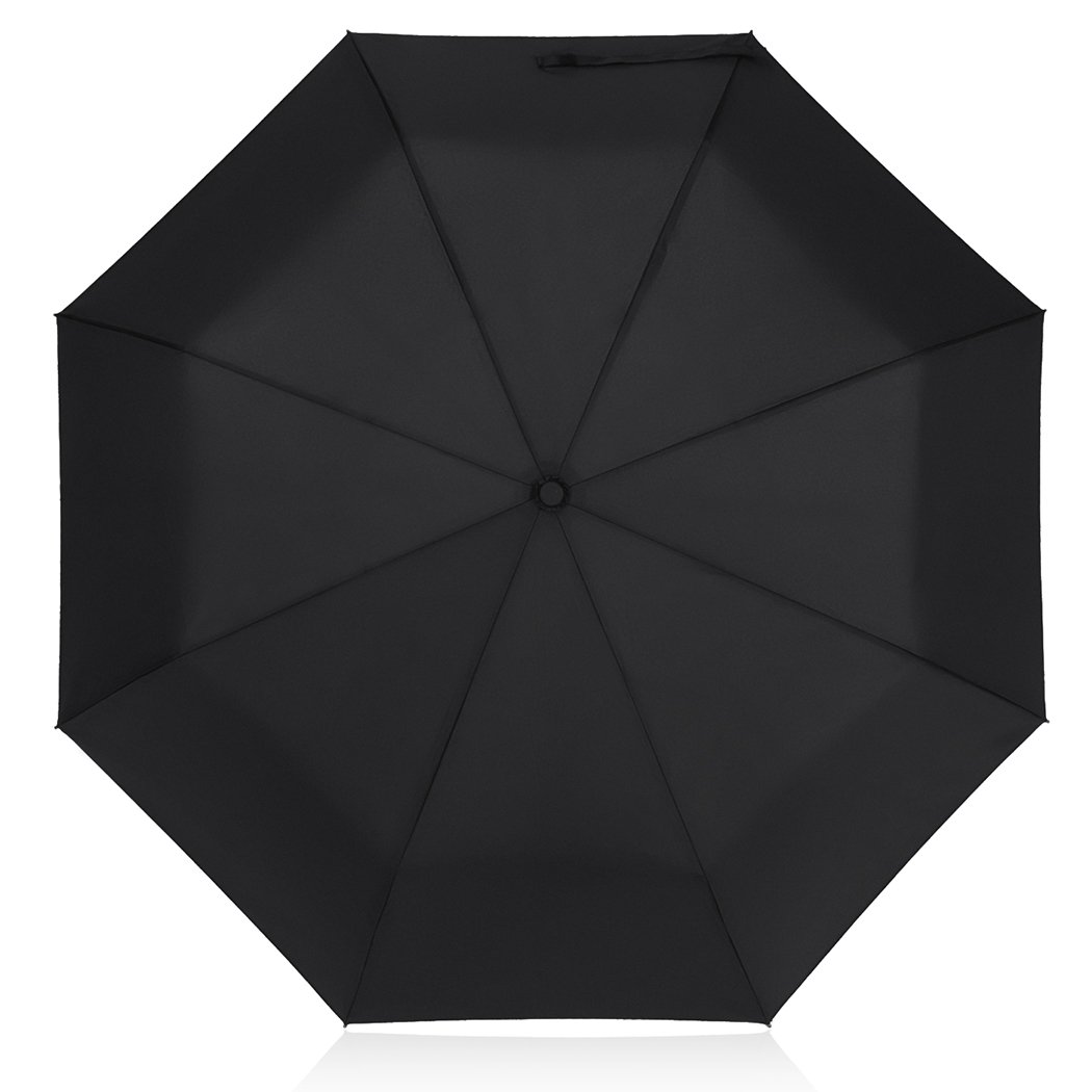 Paraguas de Viaje PLEMO Plegable Automático Negro Clásico por solo 18,99€