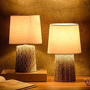 BRUBAKER Set de 2 Lámparas de Mesa-2