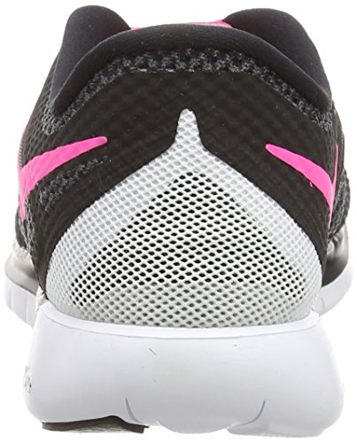 Nike Free 5.0, Scarpe Da Corsa Da Donna Nere (nero / Rosa Pow / Bianco)