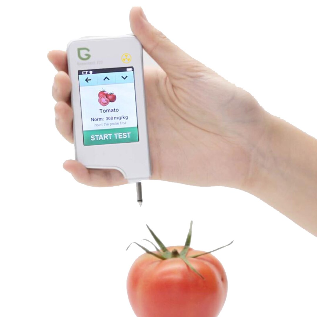 Nitrates in vegetables and fruits can be checked by a tester