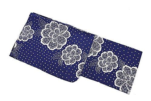 ゴミつまらない六2017年新柄 女物浴衣 綿麻 麻混 レディース 浴衣帯