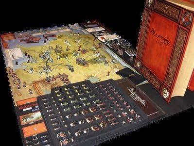 Tolkien LOTR – Guerra del Anillo de coleccionista Edition – simplemente increíble.: Amazon.es: Juguetes y juegos
