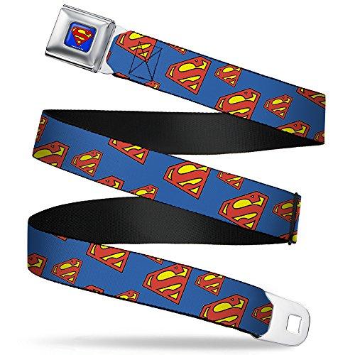 Buckle-Down Seatbelt Belt Superman Regular