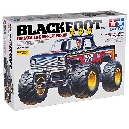 Tamiya Blackfoot 58633 2WD 1/10 Scale RC Electric Monster Truck Kit