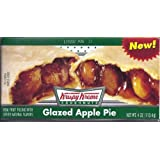 Krispy Kreme Glazed Apple Pies - 6 Individually wrapped Single Serving Pies