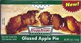 Krispy Kreme Glazed Apple Pies - 6 Individually wrapped Single Serving Pies
