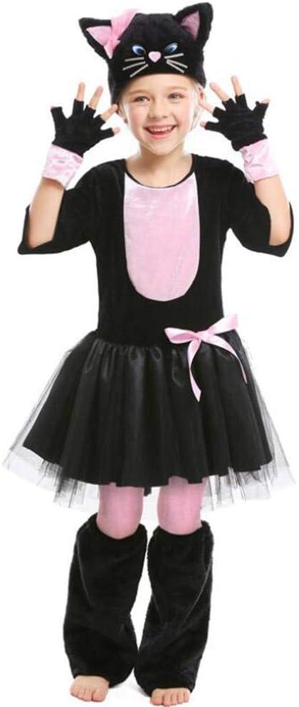 ASDF - Disfraz de Gato Negro para Halloween: Amazon.es: Jardín