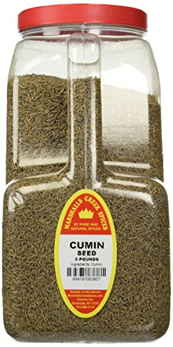 Marshalls Creek Spices Whole Cumin Seed Restaurant Jug, 5 Pound by Marshall's Creek Spices (Image #3)