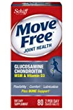 move free 160 - Move Free Glucosamine Chondroitin MSM Vitamin D3 and Hyaluronic Acid Joint Supplement, Value Size Pack 160 Count Total