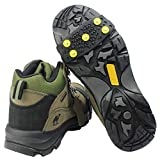 Traction Cleats for Snow and Ice,Outdoor Portable Crampons, Average Size, Used On Ice, Snow and Mud