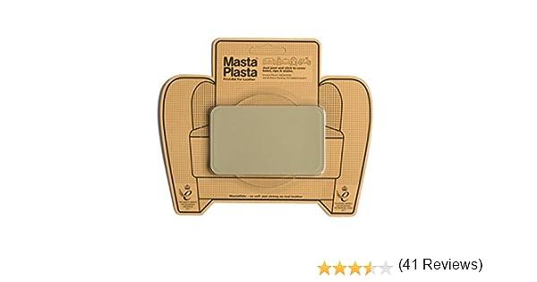 MastaPlasta Reparador Cuero, Polipiel y Skai - Parches en Varios Colores Rectangulo Mediano (100x60mm) (Beige): Amazon.es: Hogar