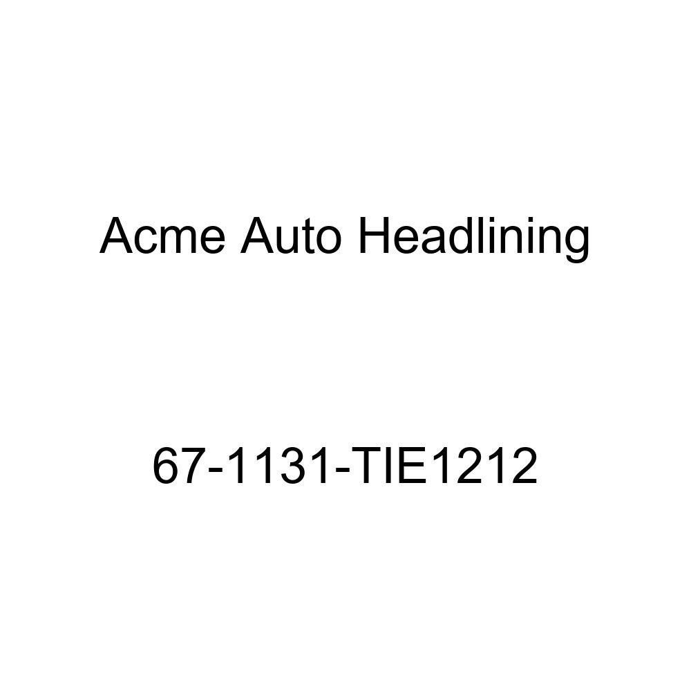 1961 Pontiac Tempest 4 Door Wagon 7 Bow Acme Auto Headlining 61-1528-TIE1212 Dark Blue Replacement Headliner