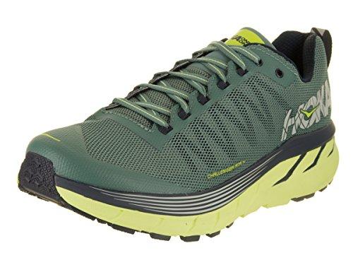 Hoka One , Chaussures de Course pour Homme Vert Vert - Vert - Vert, 44 EU