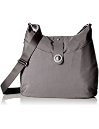 Baggalini Helsinki Bag with Silver Hardware – Lightweight and Sturdy Travel Purse Holds it All with Multiple Pockets and Organizational Features