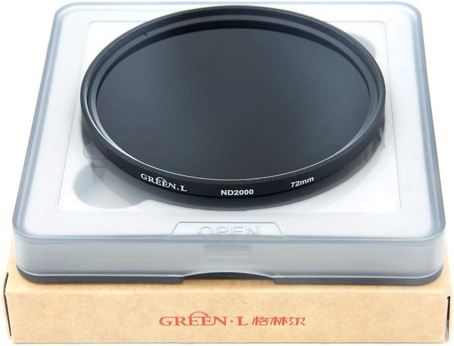 GREEN.L 37mm Variable ND Filter ND2-2000 Neutral Density Filter Nano Coating MRC18-Layer Schott Optics Glass