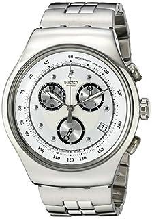 Swatch Men's YOS401G Chrono Wealthy Star Silver Dial Watch (B000YI4EBY) | Amazon price tracker / tracking, Amazon price history charts, Amazon price watches, Amazon price drop alerts