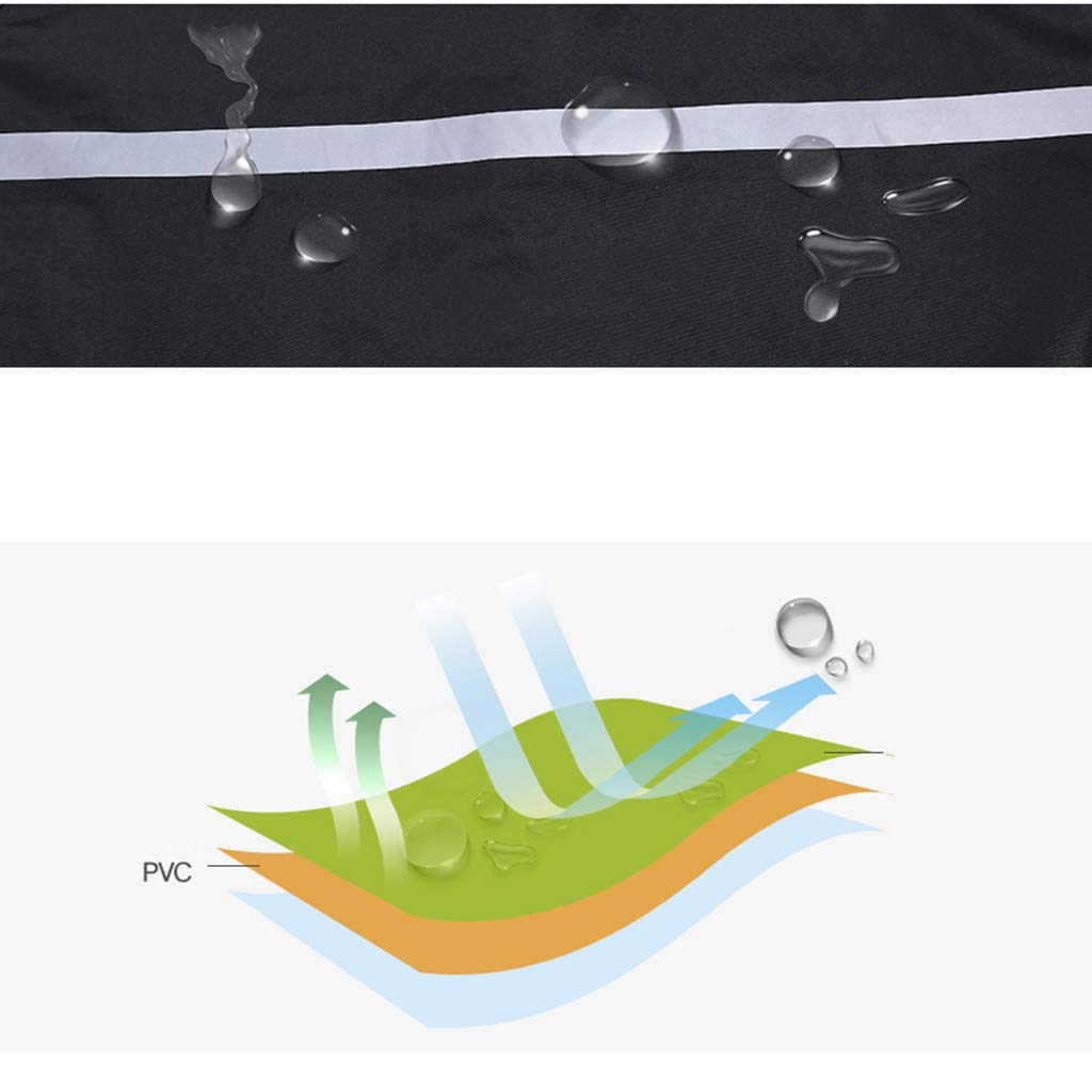Regenmantel und Regen Hosen Jacke Set Erwachsene Split Split Split atmungsaktiv wasserdicht Winddicht Outdoor-Klettern (schwarz) B07JXYB83F Jacken Helle Farben f22208