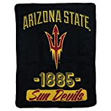 The Northwest Company NCAA Collegiate Varsity Super Soft Plush Throw Blanket 46' x 60' (Arizona State Sun Devils)