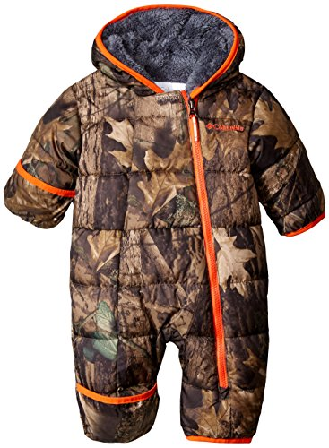 Columbia Baby Boys' Frosty Freeze Bunting, Timberwolf, 3-6 Months Baby Boy Snowsuit