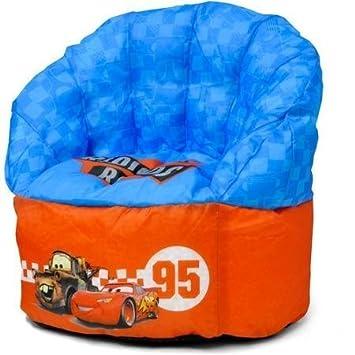 Swell Amazon Com Disney Cars Bean Bag Chair By Disney Baby Customarchery Wood Chair Design Ideas Customarcherynet