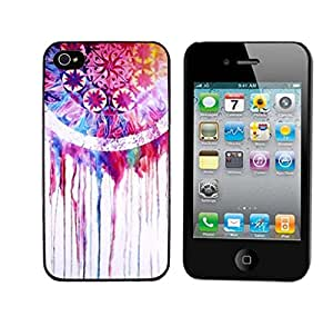 International Market Trading Fashion Hard Plastic Case Cover for Iphone 4 4S-Dream Catcher