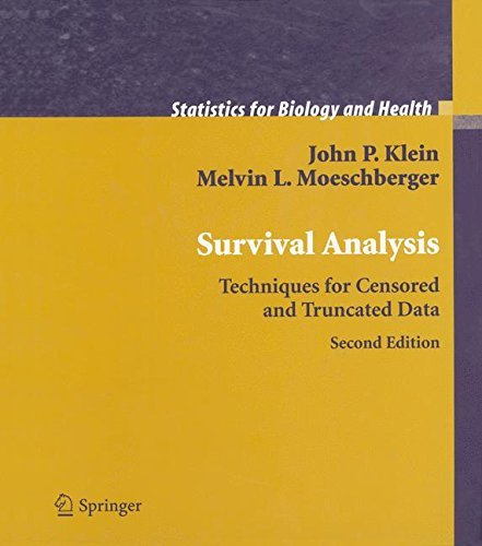 Survival Analysis: Techniques for Censored and Truncated Data (Statistics for Biology and Health) by John P. Klein (2005-03-10)