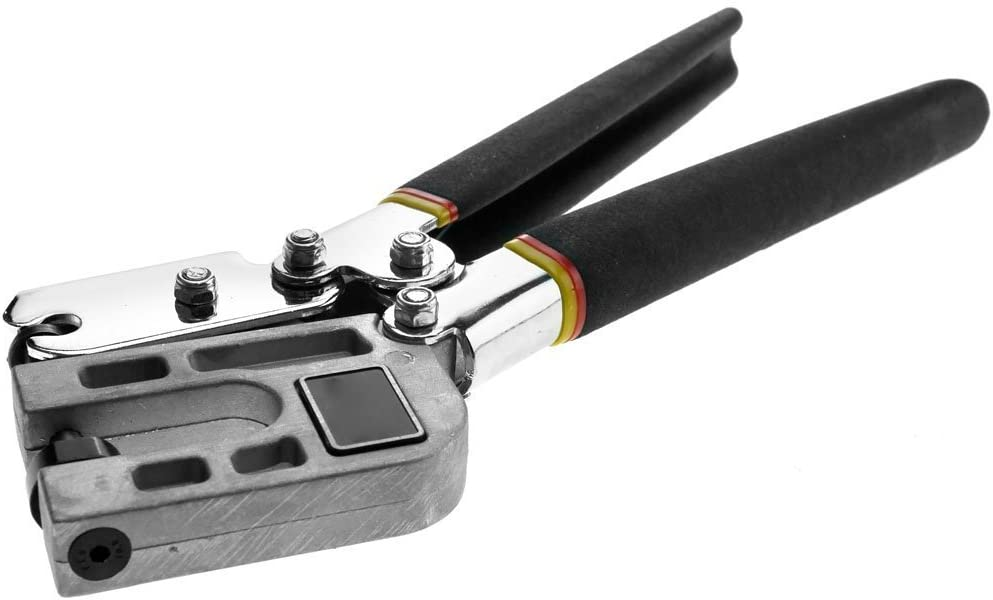 Metal Stud Crimper Punch Lock Framing Fastening Crimping Single Hand Tool...