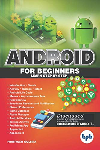 Android For Beginners: Learn Step by step