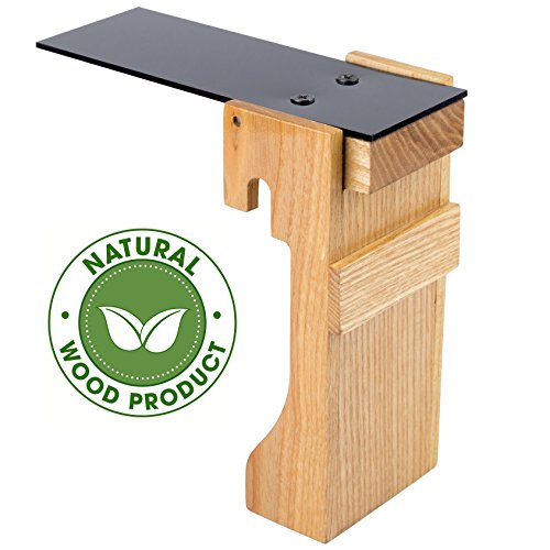 FABU Walk The Plank Mouse Trap from Natural Wood - Plank Mouse Trap Auto Reset - Humane Bucket Rat Trap - No Drilling Required - Kill or Live Catch Mice & Other Pests & Rodents (natural wood) (Trap Cage Rat)