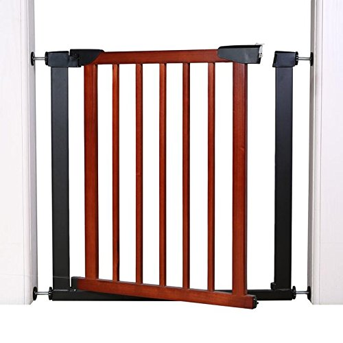 Fairy Baby Infant Decorative Wood & Metal Extra Wide Walk Thru Gate,Fit Spaces 54.33''-57.09'' by Fairy Baby (Image #3)