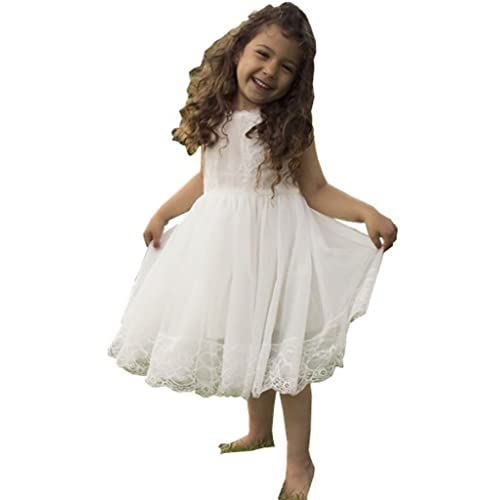 Bowdream Flower Girls Dress Vintage Lace