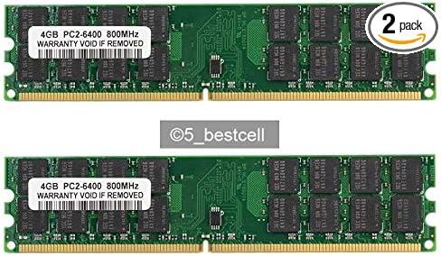 RAM 2GB PC2-6400 DDR2-800MHz 240PIN CL6 Desktop Memory Ram Low Density NON-ECC #