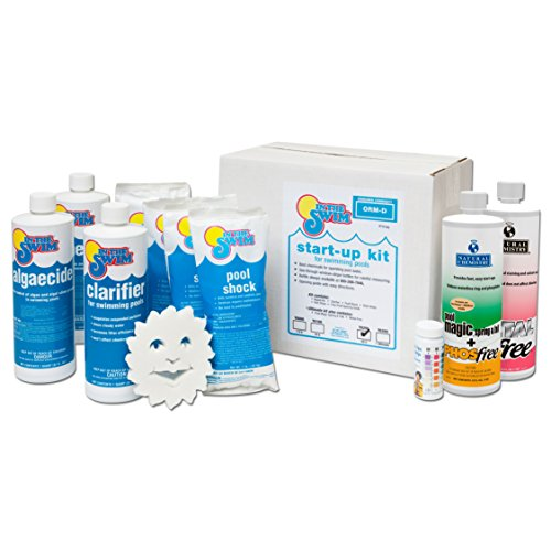 In The Swim Ultimate Pool Opening Chemical Start Up Kit - Up to 35,000 Gallons