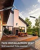 KUTON Solar Street Light, Solar Powered Outdoor