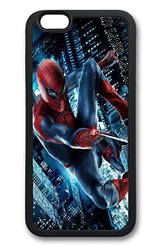 iPhone 6 Plus Case, 6 Plus Case - Slim Fit Case [Shock Absorbent] Soft TPU Silicone Cover for iPhone 6 Plus The Amazing Spiderman 2 Lovely Cute Anti-Scratch Case Bumper for iPhone 6 Plus Cases