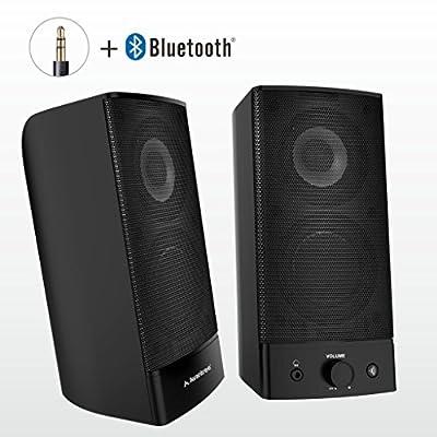 Avantree 2-in-1 Wireless & Wired 2.0 Bluetooth Multimedia Speakers